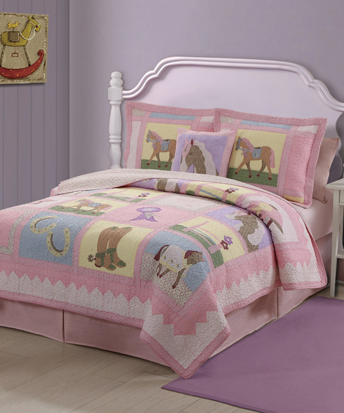 Cowgirl bedding sets horse themed bedroom for World themed bedding