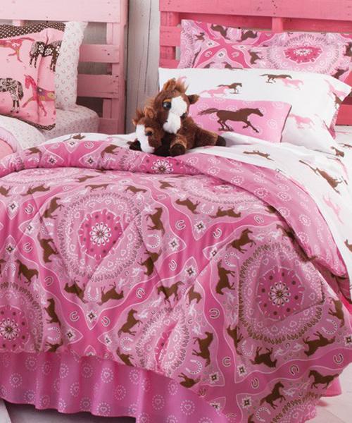 Pony Bandana Girls Horse Bedding