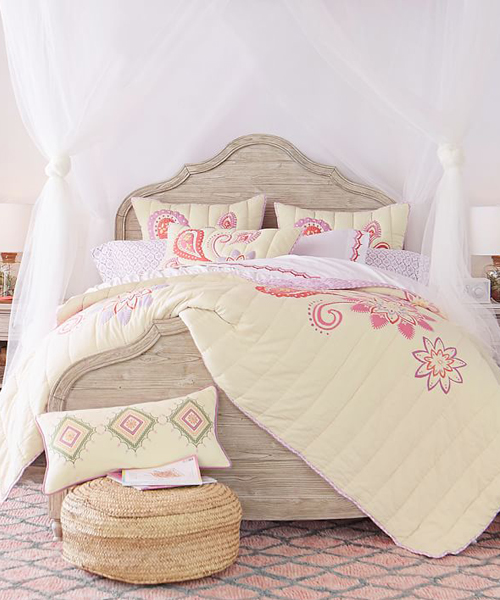 Teen Paisley Bedding