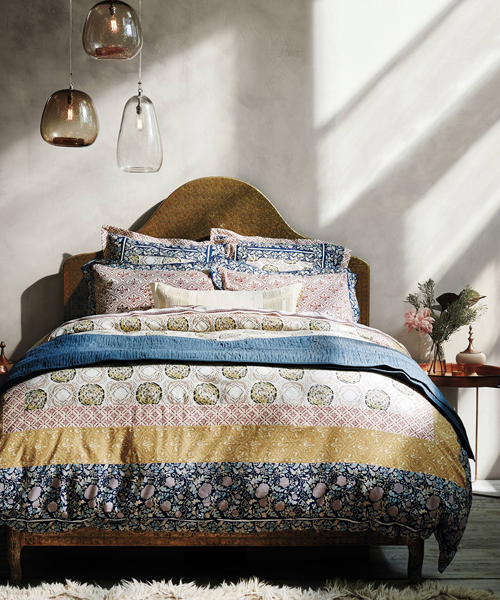 Anthropologie Bohemian Duvet Cover