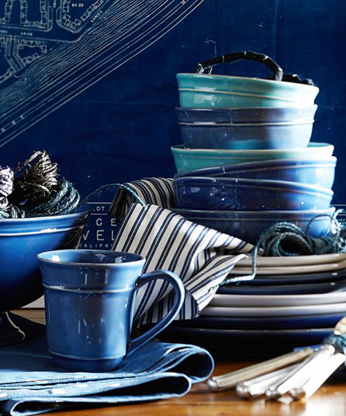 Cambria Blue Stone Dinnerware