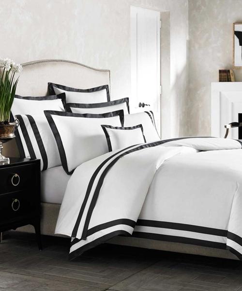 Delightful Black And White Duvet Cover