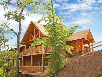 Log Cabin Home Exterior