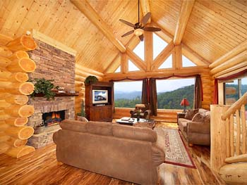 Log Cabin Homes Pictures Inside