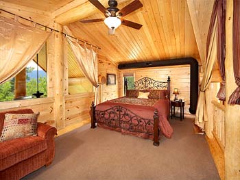 Log Home Picture Interior