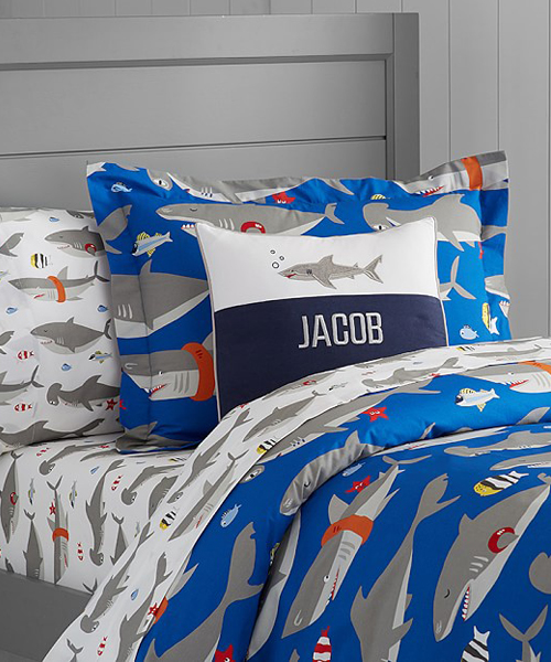 Boys Shark Bedding