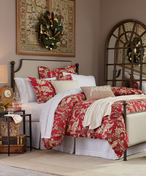 Christmas Bedding Set Gracie Holiday Collection