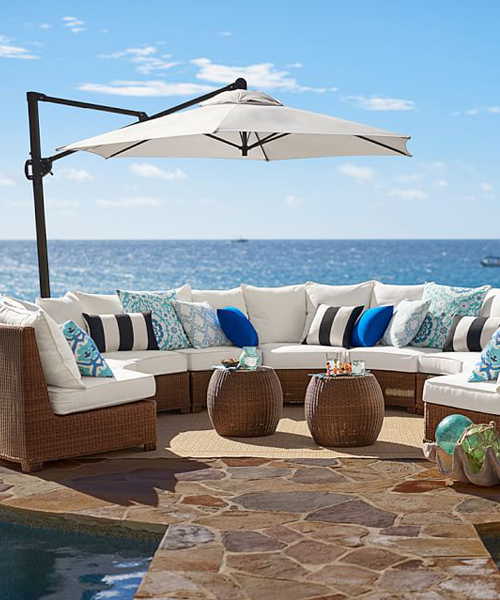 All weather wicker furniture outdoor wicker set for All weather homes