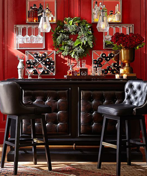 Rustic Chesterfield Bar