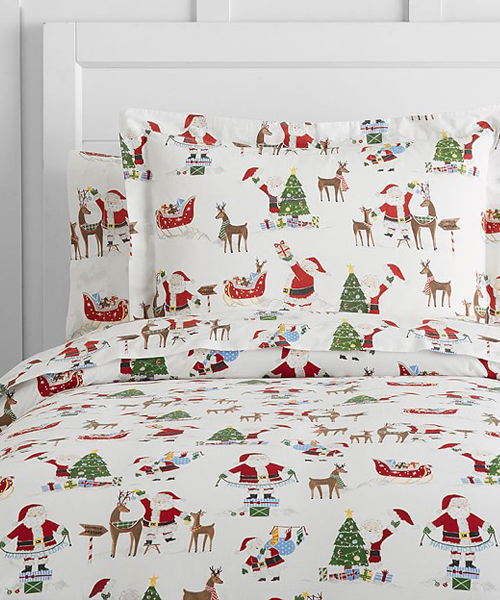 Santa Bedding