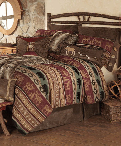 Rocky Ridge Moose & Bear Bedding