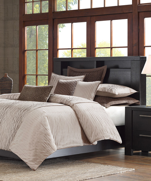 Eclipse Earthtone Bedding Canadian Log Homes
