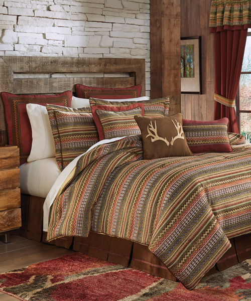 Croscill Horizons Bedding Canadian Log Homes