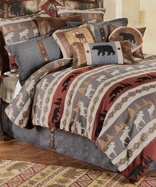 Lodge Bedding Zoom In Global Trends Wildlife Lodge