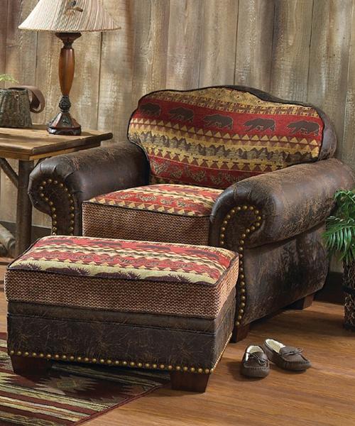Bear Creek Rustic Chair