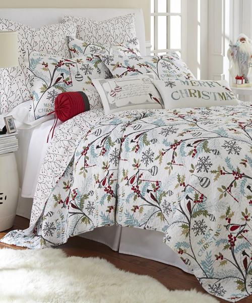 Christmas Holly Bedding