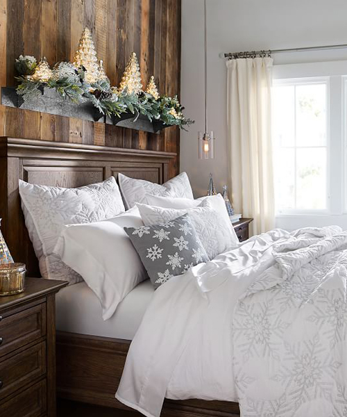 Snowflake Bedding