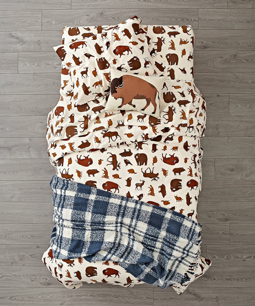 Kids Wilderness Bedding