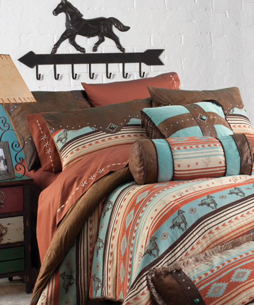 painted desert aztec bedding