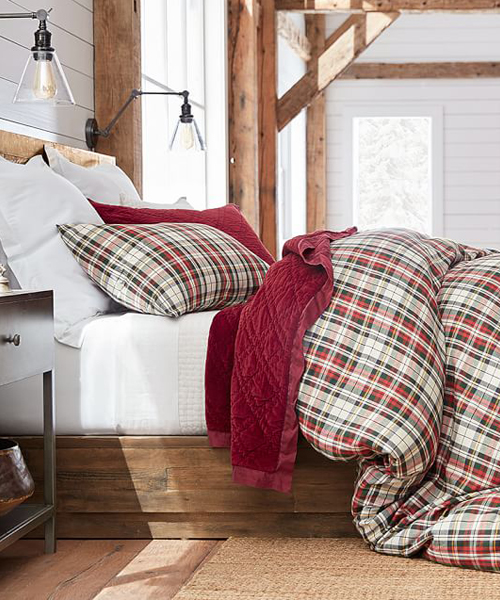 Denver Plaid Duvet Cover