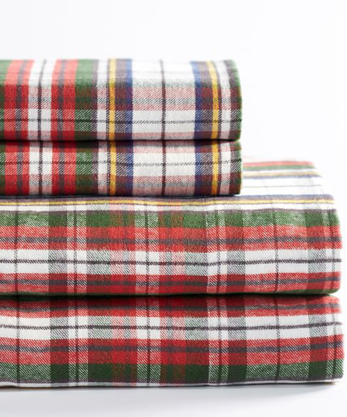 Plaid Flannel Sheets