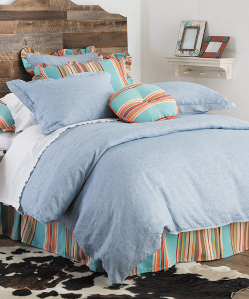 Western Chambray Bedding Amp Southwest Bedding Comforter