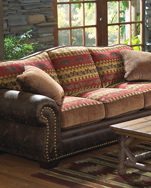 Lodge Look Sofas