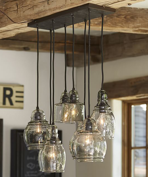 Kitchen Pendant Lighting Pottery Barn: Lodge & Cabin Lighting