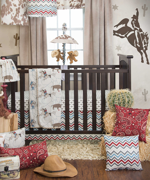 Baby Boy Woodland Nursery Crib Bedding Sets