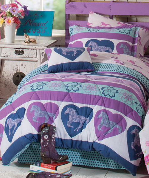 Girls Horse Bedding Cowgirl Amp Pony Bedding Sets