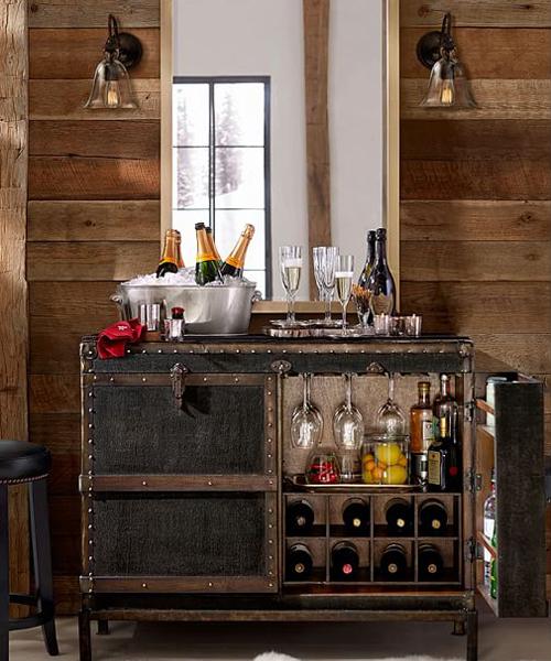Ludlow Trunk Bar Cabinet