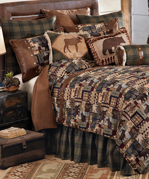 Woodland Cabin Bedding The Hill Woodland Lodge Bedding