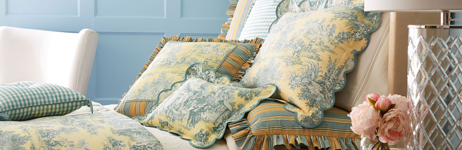 Toile Bedding For 2020 Comforters Quilts And Duvet Covers